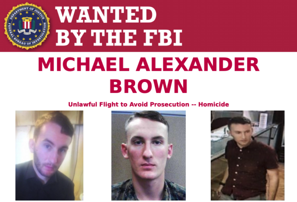 US Marine wanted for murder captured days after being placed on FBI's Most Wanted list