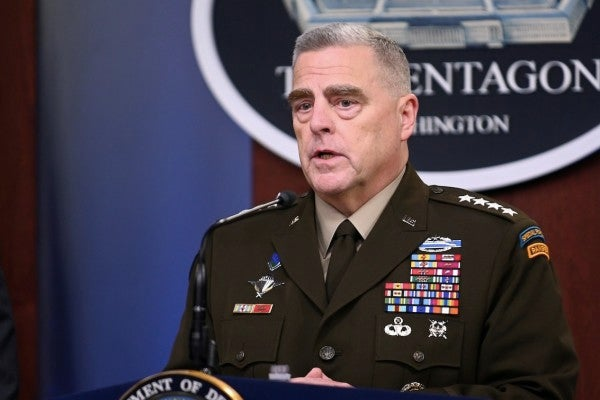 Defense officials backtrack on Trump's claim that Gen. Milley is 'in charge' of military response to violent protests