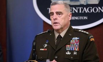 COVID-19 puts the military's chain of command into quarantine