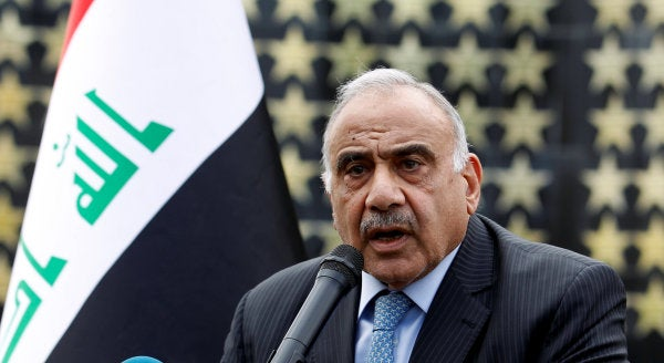 Iraqi prime minister announces resignation amid months of anti-government protests