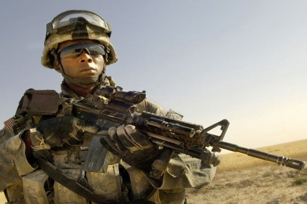 The Army's new protective eyewear will be able to adjust immediately from outside to indoor lighting