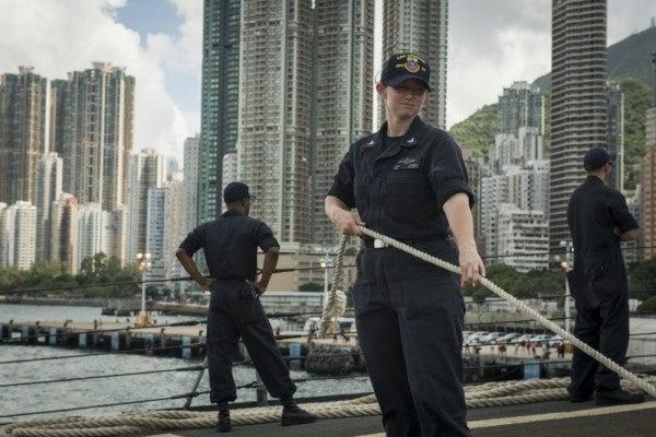 China bans US military ship, aircraft visits to Hong Kong amid pro-democracy protests