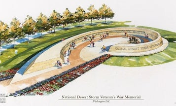 Design approved for Gulf War memorial on the National Mall