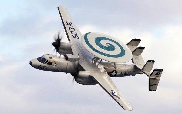 Crew survives Navy Hawkeye crash in Virginia