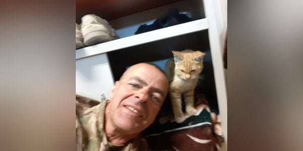 A Delaware soldier needed to raise $3,000 to bring a friendly cat home from Afghanistan. In two days, he raised $8,000
