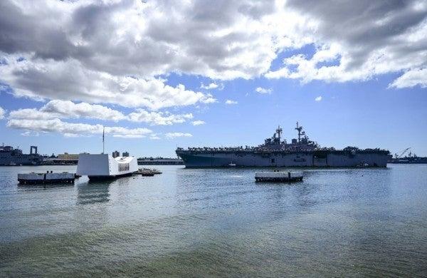 Sailor kills 2 civilians and himself in Pearl Harbor shooting rampage