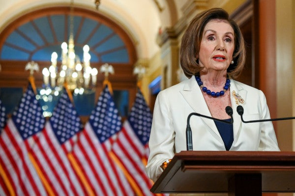 Pelosi says Democrats will draft articles of impeachment against Trump