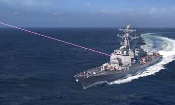 The Navy wants lasers to shoot down drones and missiles, but its ships lack the power to fire them