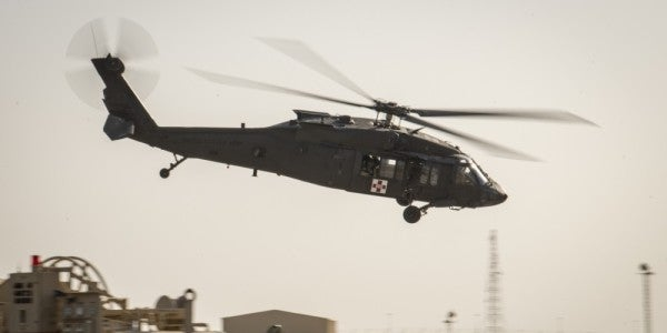 Army National Guard UH-60 Black Hawk helicopter crashes in Minnesota