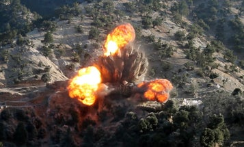 US forces conduct airstrikes on Taliban in Afghanistan
