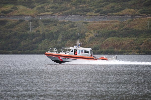 Navy and Coast Guard vessels collide in Alaska, injuring nine