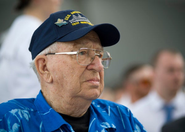 Pearl Harbor veteran to be interred on his sunken ship