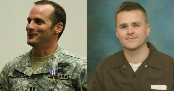Pardoned soldiers Clint Lorance and Mathew Golsteyn were special guests at a recent Trump fundraiser