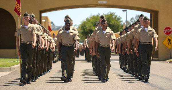A new measure would end gender segregation at Marine Corps boot camp for good