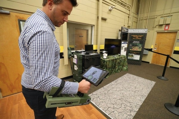 Soldiers may soon start using VR to practice detecting IEDs