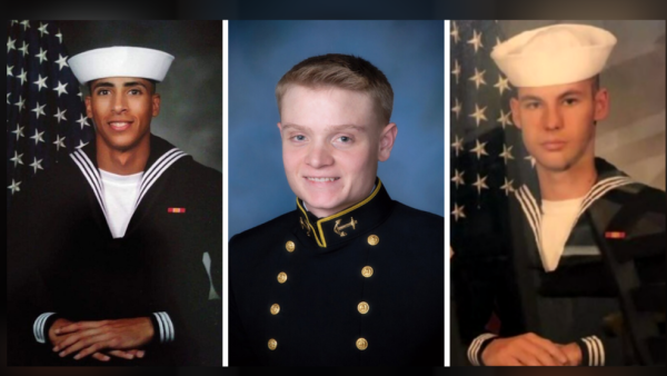 Navy posthumously awards aviator and air crew wings to 3 sailors killed in Pensacola shooting