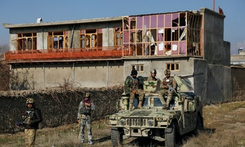 Rockets strike Bagram Airfield in Afghanistan