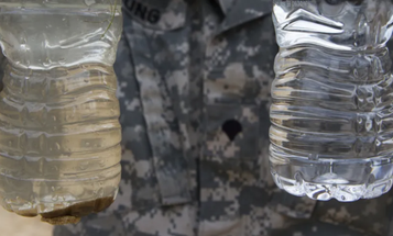 Congress is halting the use of the military firefighting foam that's contaminated base drinking water — but there's a catch