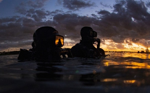 The first woman has made it through SEAL officer screening