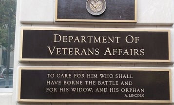 The number of veteran deaths from COVID-19 tripled over the weekend