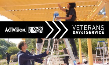 How Activision Blizzard employees, pro gamers, and more partnered to support veterans