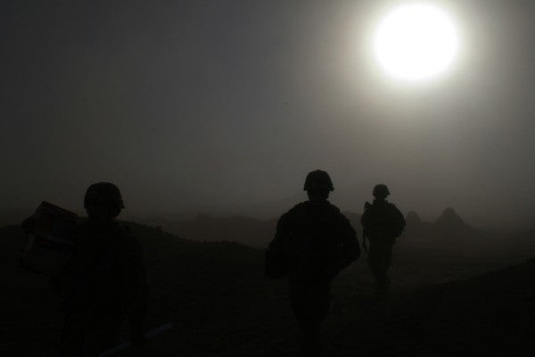 Army suicides usually decrease during wartime. New data shows that's no longer the case