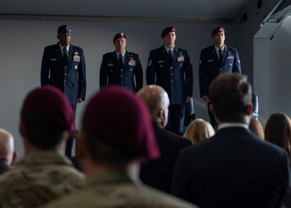 2 Air Force special operations medics receive Silver Star for saving dozens in Afghanistan battles