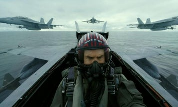 The Navy refused to let Tom Cruise fly an F/A-18 Super Hornet in 'Top Gun: Maverick'