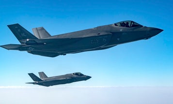 Air Force F-35s and Army howitzers are practicing double-teaming enemy air defenses