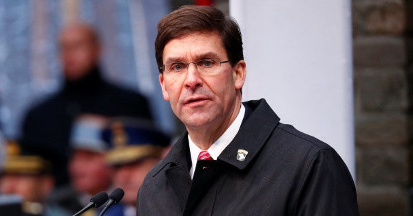 SecDef Esper to Iraq: Get it together and help halt future attacks on bases housing US forces