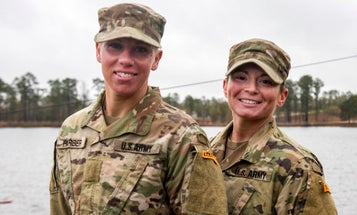 'I gave 100 percent' — The first female enlisted Guard soldiers have graduated from Army Ranger School