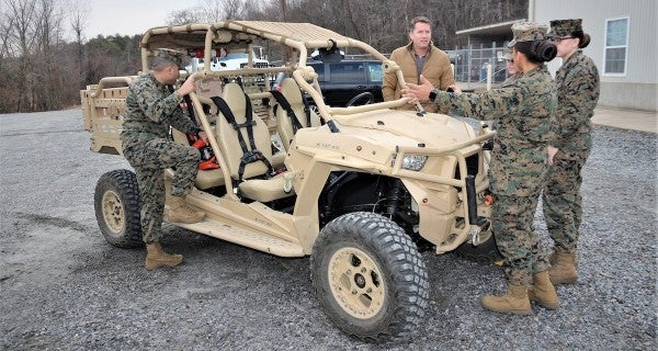 The Marine Corps's ATV is getting some racing-inspired upgrades