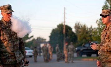 Congress plans to ban sale of tobacco products to anyone under 21, and yes, that includes the military