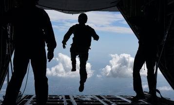 Air Force halts parachute, dive and mountain training ops following airmen deaths