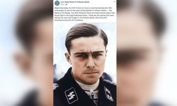 18th Airborne Corps apologizes for posting Nazi picture in its Battle of the Bulge commemoration post
