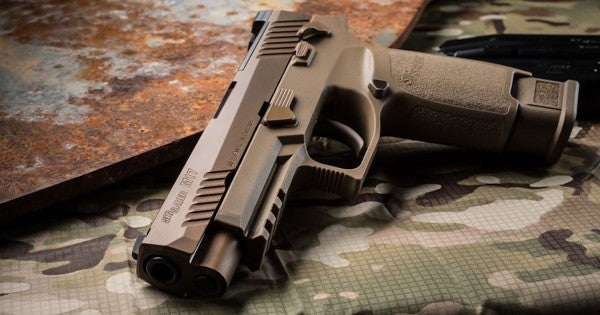 You can now score your very own Army surplus M17 pistol for a limited time
