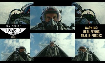 Watch the actors of 'Top Gun: Maverick' nearly puke in their helmets as they pull 7 to 8 Gs