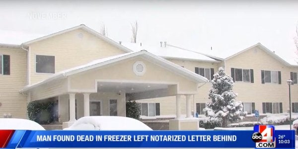 A woman kept her dead husband's body in a freezer for 10 years and collected his VA benefits, police say