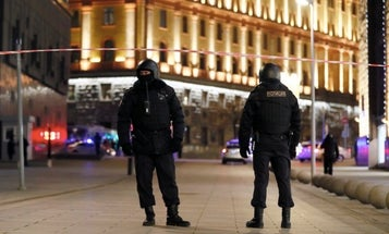 Shooting near Russian secret police headquarters leaves at least 3 people dead