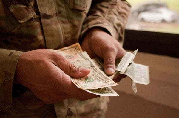 A new study says troops might be overpaid