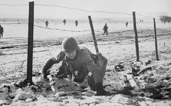 'All I remember is thinking if I hit the ground, I'm dead' —Christmas Day at the Battle of the Bulge