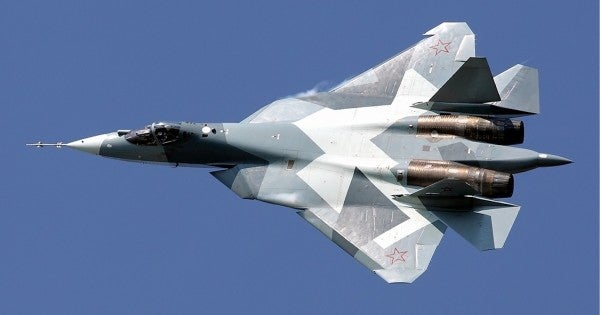 Russia's advanced Su-57 fighter jet suffers its first crash