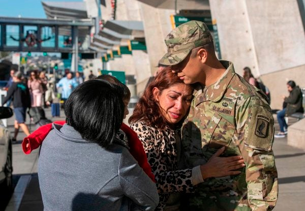 An Army officer thought his service would protect his immigrant mother. He was wrong