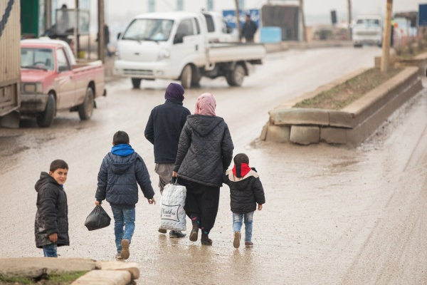 Over 230,000 Syrian civilians have fled their homes as Russian-backed campaign rages on