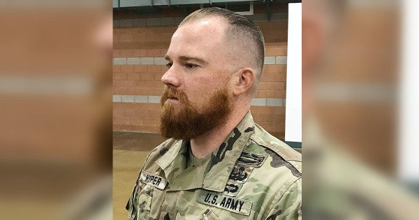 By the hammer of Thor! A Nevada National Guard soldier can now rock a Norse beard