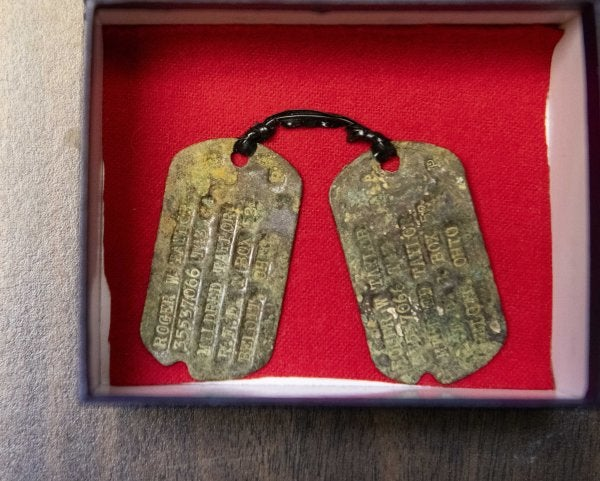 A fallen soldier's dog tags finally come home 75 years after the Battle of the Bulge