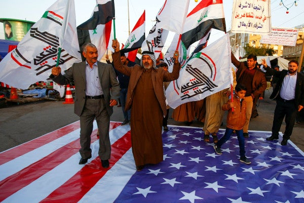 Iraq condemns US air strikes as unacceptable and dangerous