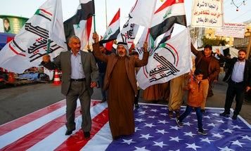 Iraqi militias agree 'conditional ceasefire' in return for timeline for withdrawal of US troops