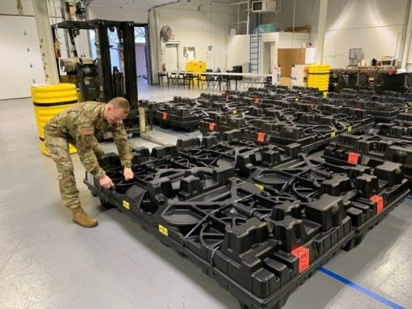 The first Army unit has received its ACFT equipment