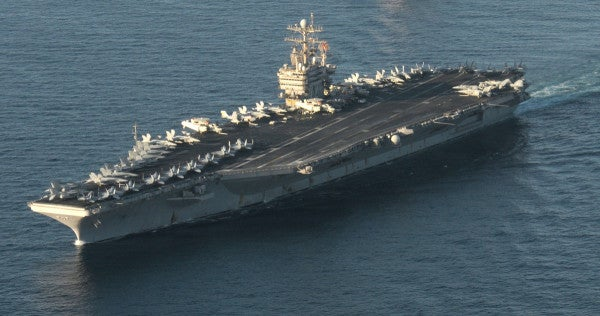 The USS Abraham Lincoln is finally coming home after an extended deployment